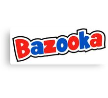 Bazooka retro bubble gum Canvas Print