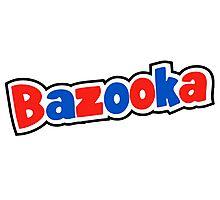 Bazooka retro bubble gum Photographic Print