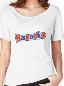 Bazooka retro bubble gum Women's Relaxed Fit T-Shirt