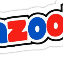 Bazooka retro bubble gum Sticker