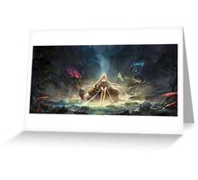 League of Legends - Janna in the Jungle Greeting Card