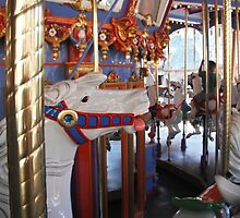 Horse from the carousel  by Micaelabradshaw