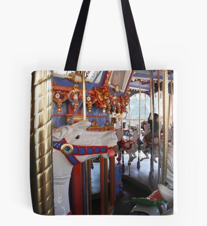 Horse from the carousel  Tote Bag