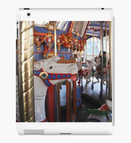 Horse from the carousel  iPad Case/Skin