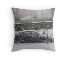 The Great Winter Throw Pillow