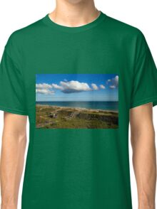Emerald Isle Beach, Between the Dunes and Clouds Classic T-Shirt