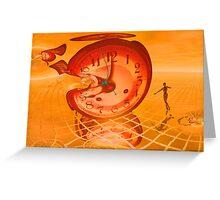 Time warp Greeting Card