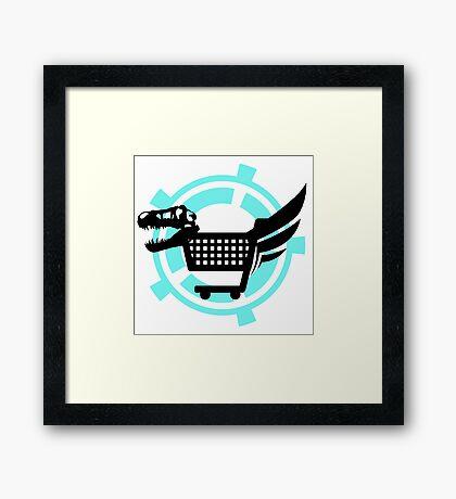 The Poopsmiths Logo Framed Print
