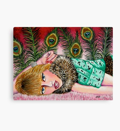 Krystal Simpson Canvas Print