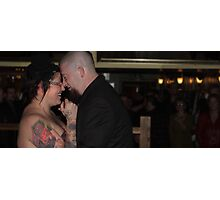 Bride and Groom pt 2 Photographic Print