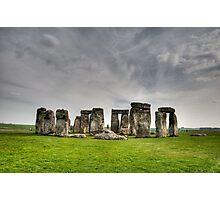 Stonehenge HDR Photographic Print