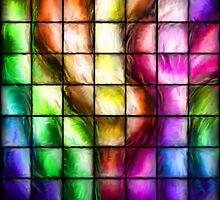 Abstract Color Tiles by IEntropyI