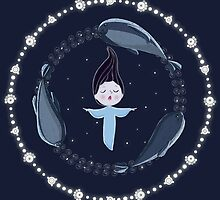 Song of the Sea - Selkie and seals by Martin Mothiron