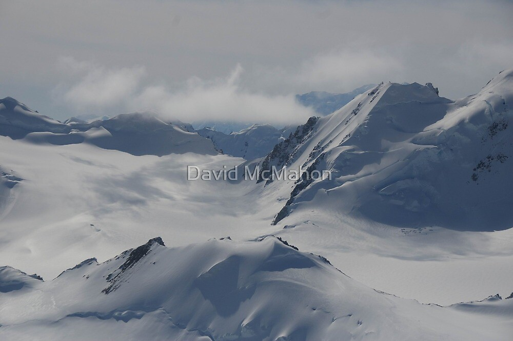 Reach Out Of The Plane And Touch That Glacier by David McMahon