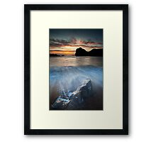 Man o War Return Framed Print