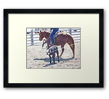 It Only Hurts for a Little While Framed Print