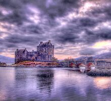 Eilean Donan Sunset (Borderless) by Chad Kruger