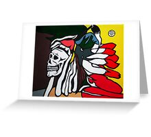 Forgotten Chief Greeting Card