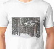 Woods in Winter Unisex T-Shirt