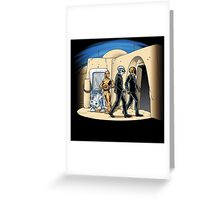 Daft Cantina Greeting Card
