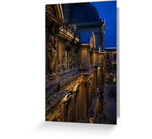 The Louvre - a Royal Palace, a Museum, an Architectural Marvel Greeting Card