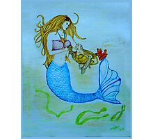 Mermaid Art  Photographic Print