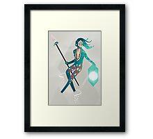 The Sea Guardian Framed Print