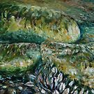 rocks and mussels by TerrillWelch
