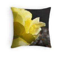 Yellow Mellow  Throw Pillow
