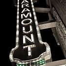 Paramount Theatre Marquee by Melonie Wallace