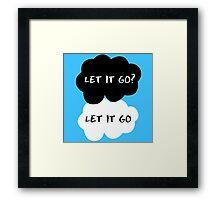 Let It Go? Let It Go Framed Print