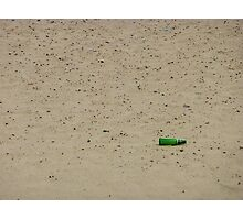 Beer today waste tommorow Photographic Print