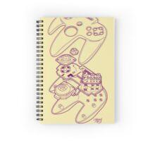 Blueprint 64 (3-D) Spiral Notebook
