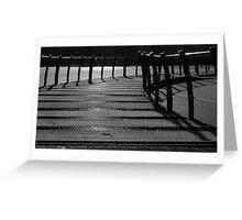 Floating Bridge 3 Greeting Card