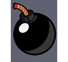 Cartoon Bomb Photographic Print