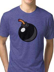 Cartoon Bomb Tri-blend T-Shirt