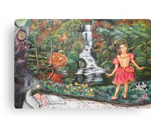 Girl's Dream Sequence Canvas Print