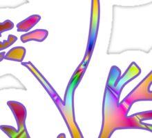 Neon Daisy Sticker