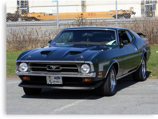 1971 Ford Mustang MACH 1 by HALIFAXPHOTO