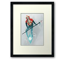 The Sky Guardian Framed Print