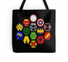 Marvel DC Comic Superhero Crossover Megaverse Tote Bag