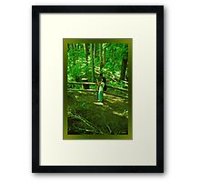 At Work! Framed Print