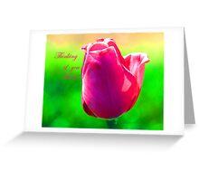 Thinking of MOM Greeting Card