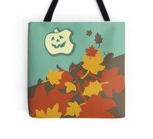 Autumn jack-o-lantern Tote Bag