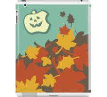 Autumn jack-o-lantern iPad Case/Skin