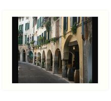 Walking in Asolo Art Print