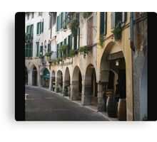 Walking in Asolo Canvas Print