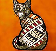 Cat - Southwestern  by BagChemistry