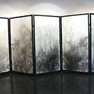 Five panel screen by evon ski