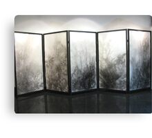 Five panel screen Canvas Print